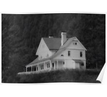 Heceta Head  ..Light Keepers Residence Poster