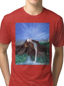 Agnus Dei - The Lamb of God Tri-blend T-Shirt