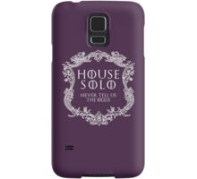 House Solo (white text) Samsung Galaxy Case/Skin