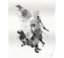 Final Fantasy 7 - Sephiroth Art Print Poster