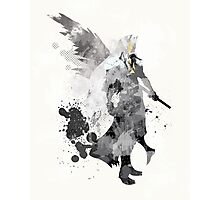 Final Fantasy 7 - Sephiroth Art Print Photographic Print