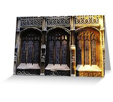 Trilogy, Lincoln Cathedral Greeting Card