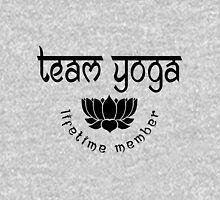 Team Yoga Lifetime Member design Womens Fitted T-Shirt