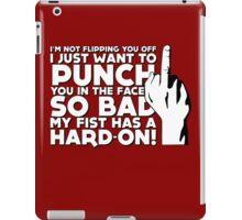 Fist Boner! iPad Case/Skin