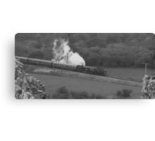 Swanage Steam Train Railway Canvas Print