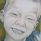 Declan in Pastel by Christopher Clark
