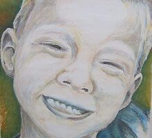 Declan in Pastel by Christopher Clark