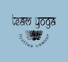 Vintage Team Yoga Lifetime Member design Womens Fitted T-Shirt