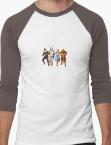 Scarecrow, Tin Man, Dorothy, and the Cowardly Lion Men's Baseball ¾ T-Shirt