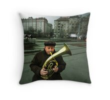 The Moscow Square Throw Pillow