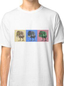 Three Little Robots Classic T-Shirt
