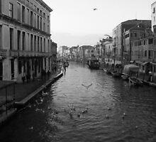 Canal di Cannaregio by Strobella