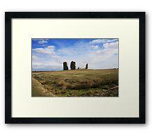 Hope All Saints, Romney Marsh, Kent, UK Framed Print