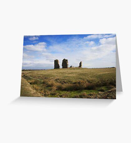 Hope All Saints, Romney Marsh, Kent, UK Greeting Card