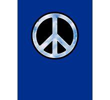 Peace,Love,Music Sky Photographic Print