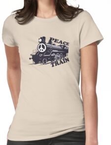 Cat Stevens - Peace Train is coming Womens Fitted T-Shirt
