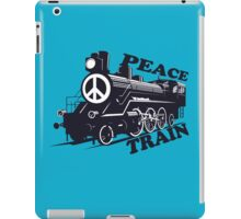 Cat Stevens - Peace Train is coming iPad Case/Skin