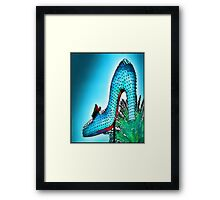 High Heel Framed Print