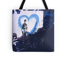 Chaplin Heart Tote Bag