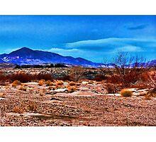 Mojave Desert Dawn Photographic Print