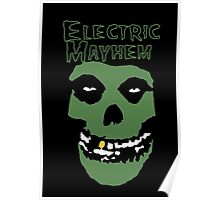 Electric Mayhem Parody Logo Poster