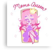 Meme Queen Canvas Print