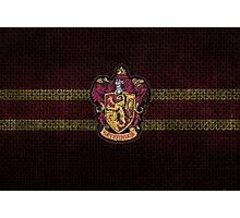 Gryffindor Knitted Photographic Print