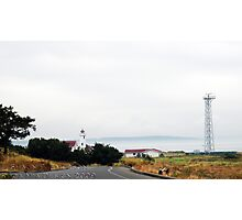 Lighthouse at Fort Worden Photographic Print