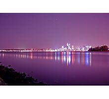 City Glow Photographic Print