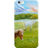 Serenity in the Field iPhone Case/Skin