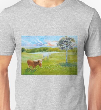 Serenity in the Field Unisex T-Shirt