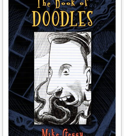 """The Book of Doodles"" cover Sticker"