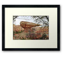 Radiator Springs Framed Print