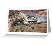 Utah Raptor Greeting Card