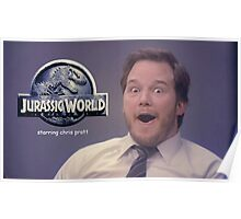 Jurasic World Chris Pratt Poster