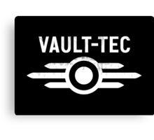 Fallout Vault Tec Canvas Print