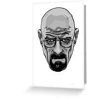 Heisenberg - Walter White - Breaking Bad Greeting Card