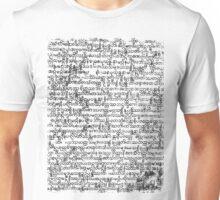 Burmese Script Unisex T-Shirt