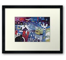 The Least & The Greatest Framed Print