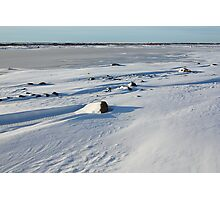 Early Morning on the Tundra, Churchill, Canada Photographic Print
