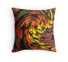 """""""Twisted Tulips"""" Throw Pillow"""