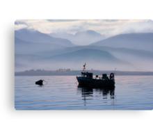 Misty Isle... Isle of Skye, Scotland. Canvas Print
