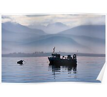 Misty Isle... Isle of Skye, Scotland. Poster