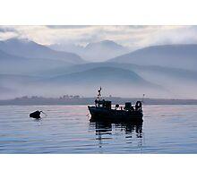 Misty Isle... Isle of Skye, Scotland. Photographic Print