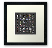 Buffy - Mini Monsters Framed Print