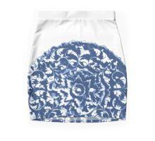 Blue Myanmar Moon Mini Skirt