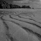 Porthcurno Beach by Rob Lodge