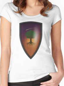Ser Duncan the Tall: The Hedge Knight Variant Women's Fitted Scoop T-Shirt