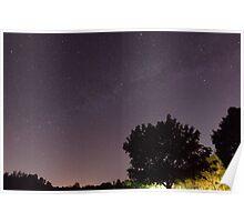 The Milky Way - Burlington, Vermont Poster