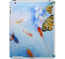 Tranquility in Familiar Numbers iPad Case/Skin